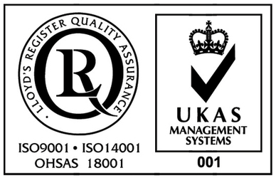 Accredited to ISO9001, ISO14001 and OHSAS 18001