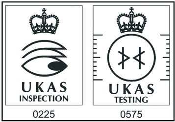 UKAS Inspection and testing