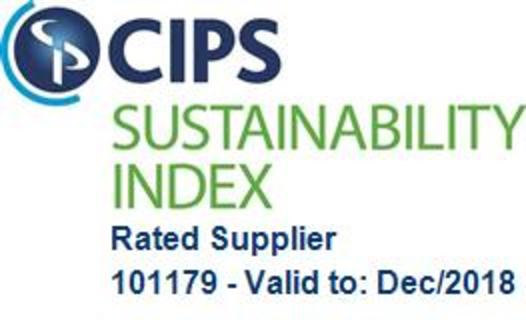 CIPS Sustainability Index Rated Supplier