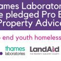 Thames Laboratories Pledge Pro Bono Property Advice